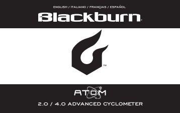 2.0 / 4.0 advanced cyclometer - Blackburn