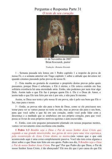 57. Perguntas e Respostas no 31 - Message-Doctrine