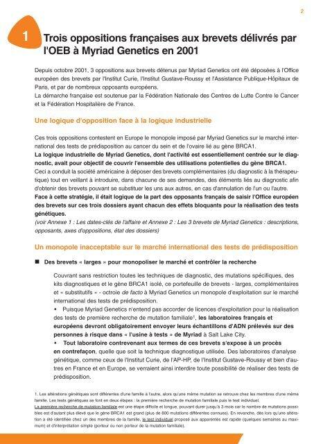 brevet-opposition-gene-brca1
