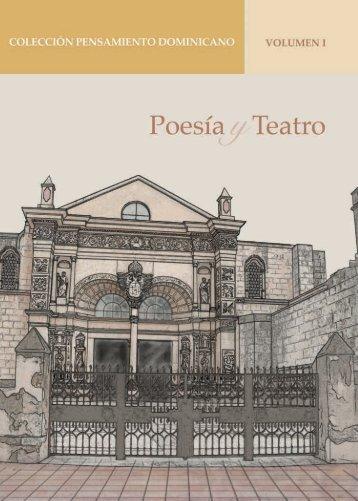 Colección Pensamiento Dominicano, Volumen I: Poesía y Teatro