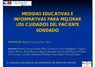 medidas educativas e informativas para mejorar los ... - CODEM