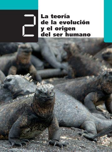 2La teoría de la evolución y el origen del ser humano - Ames