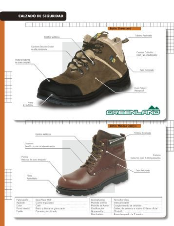 Catalogo zapatos cat full safety - Calzado de seguridad ...