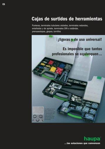 Cajas de surtidos de herramientas - Haupa