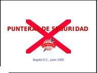 PUNTERAS DE SEGURIDAD - Consejo Colombiano de Seguridad