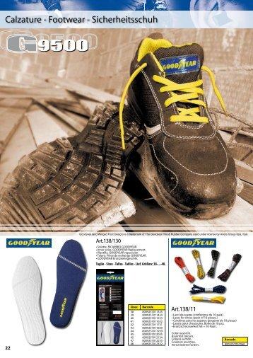 Calzature - Footwear - Sicherheitsschuh