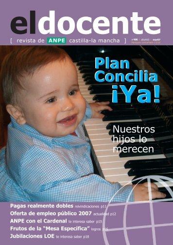Plan Concilia Plan Concilia - Anpe Albacete