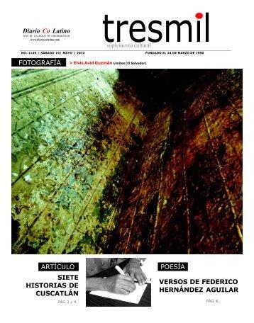 Suplemento Cultural Tres Mil en formato PDF - DiarioCoLatino.com