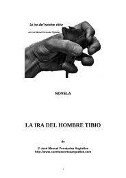 LA IRA DEL HOMBRE TIBIO - en PDF - José Manuel Fernández ...