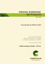 IAP_Conversión_Pozo G-232 - Organismos