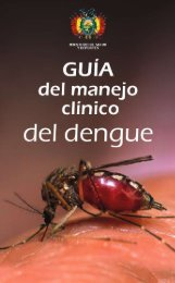 DENGUE - Ministerio de Salud y Deportes de Bolivia