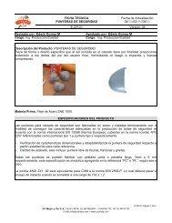 Punteras de acero - Fábrica de Botas de Seguridad