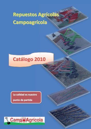 Repuestos Agrícolas Campoagrícola Catálogo 2010