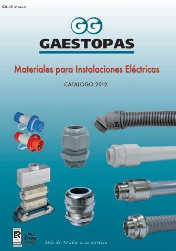 catalogue Gaestopas CA-40