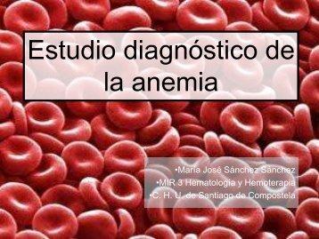 Estudio diagnóstico de la anemia - Aghh.es