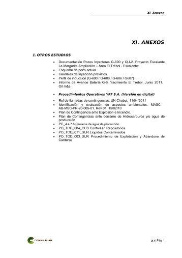 Anexos - Organismos