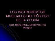 LOS INSTRUMEMTOS MUSICALES DEL PÓRTICO DE LA GLORIA