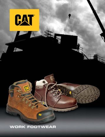 Catalogo Zapatos - CAT Full Safety
