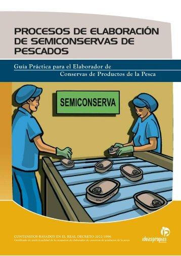 procesos de elaboración de semiconservas de pescados