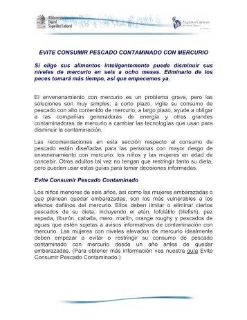 EVITE CONSUMIR PESCADO CONTAMINADO ... - Seguros Caracas