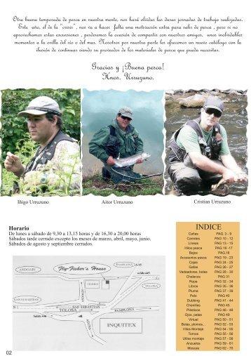 Catalogo - Pescando a Mosca