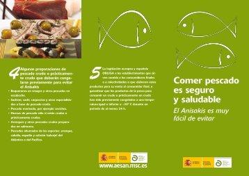 Comer pescado es seguro y saludable
