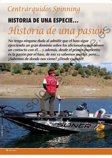 Historia de una pasión - Solopescaonline.es