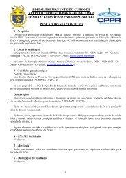 EDITAL PERMANENTE PARA PESCADOR 2013 - Marinha do Brasil