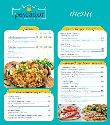 paellas entradas · entrées · appetizers paellas entradas · entrées