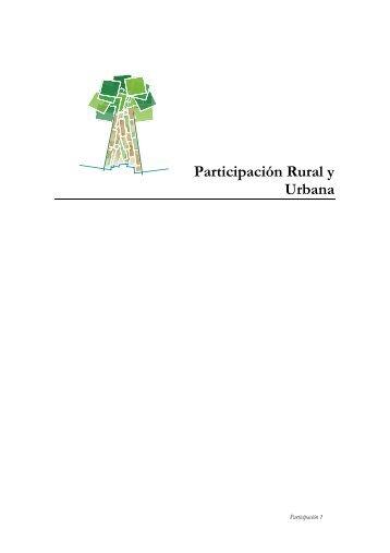 Participación Rural y Urbana - ESAP