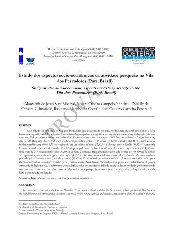 Estudo dos aspectos sócio-econômicos da atividade ... - APRH