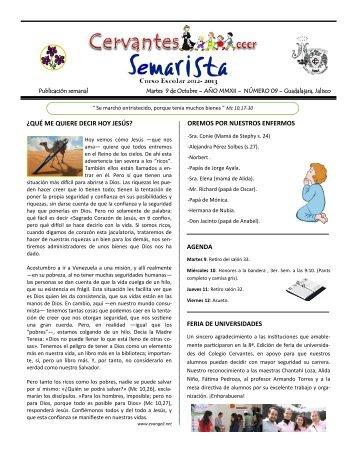 Edición #09/Octubre 9 - Colegio Cervantes Costa Rica