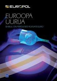EUROOPA UURIJA - Europol - Europa