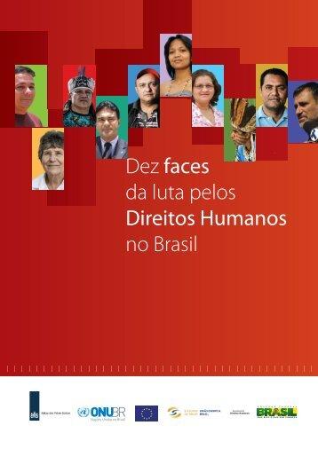 Dez faces da luta pelos Direitos Humanos no Brasil - ONU Brasil