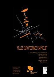 Villes européennes en projet. - Ministère du Développement durable