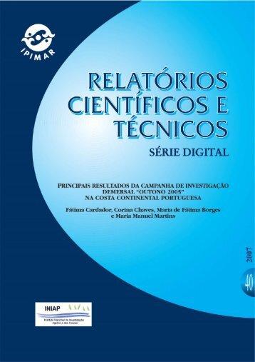 """Outono 2005"" na costa continental portuguesa (PDF - 2730KB - INRB"