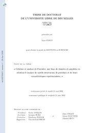 Création et analyse de Pescador, une base de données de peptides ...