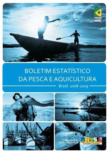 Boletim Estatístico da Pesca e Aquicultura