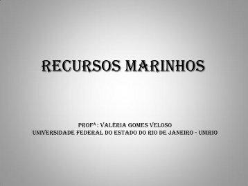 Aula 5 - Recursos Marinhos - Light