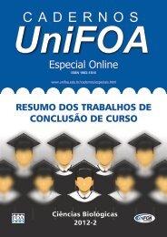 Curso de Ciências Biológicas - UniFOA