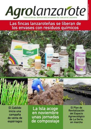 NÚMERO 8 - NOVIEMBRE 2012 - Agrolanzarote