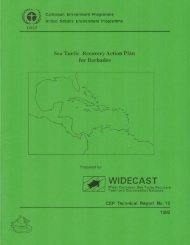 Sea Turtle Recovery Action Plan for Barbados - WIDECAST