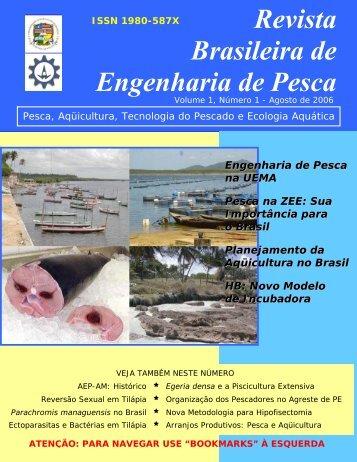 À ESQUERDA Revista Brasileira de Engenharia de Pesca