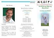 Ausbildung Qigong -Kursleiter - Amara Schulen für Naturheilkunde ...
