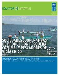 sociedades cooperativas de producción ... - Equator Initiative