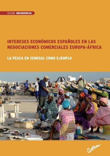 Intereses económicos españoles en las negociaciones ... - ODG