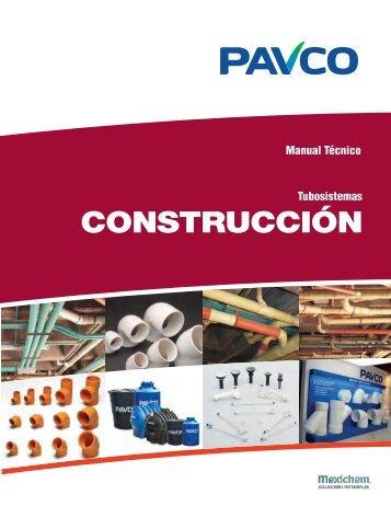 Manual Técnico Productos Pavco para la Construcción