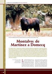 Clásicos ganaderos en Las Ventas: Montalvo
