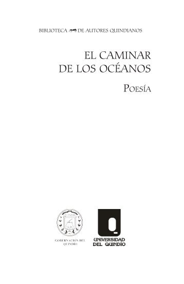 EL CAMINAR DE LOS OCÉANOS