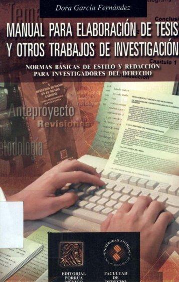 1.Manual Para Elaboracion de Tesis y Otros Trabajos de Investigacion
